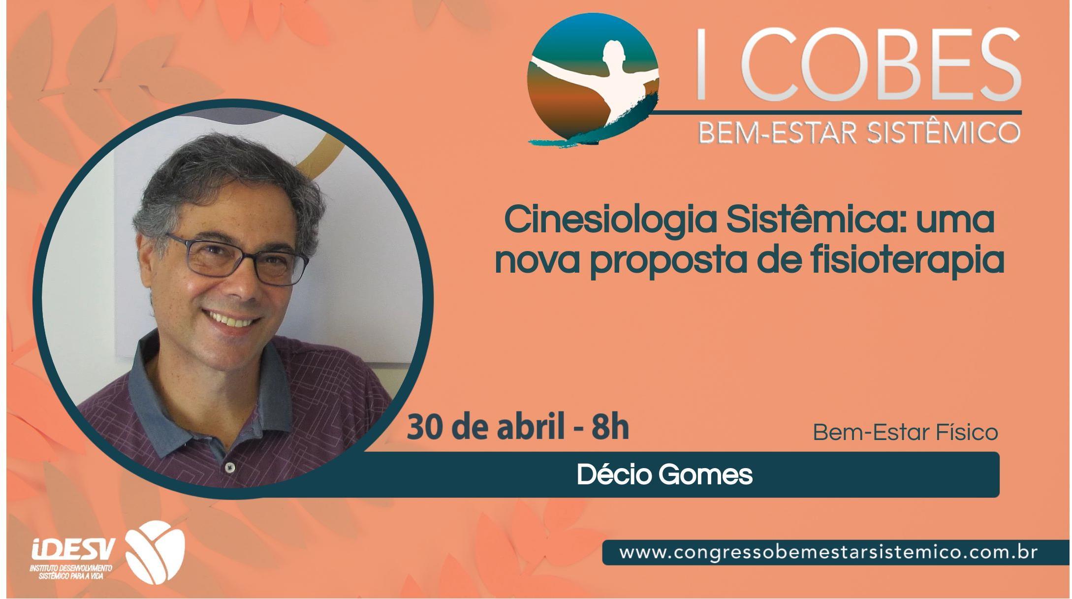 Palestra do dr. Décio Gomes no I COBES