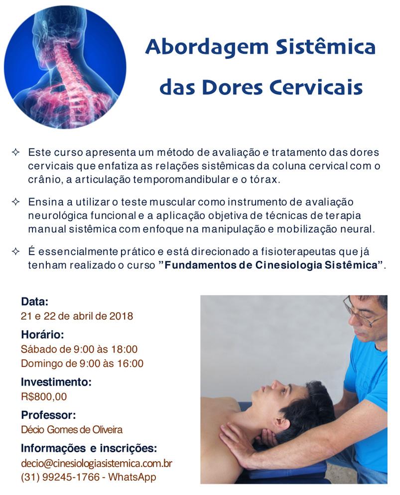 Abordagem Sistêmica das Dores Cervicais
