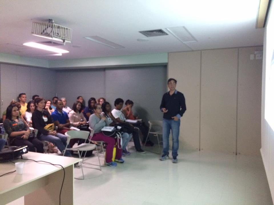 Palestra sobre Estabilizaçao Neuromuscular Dinamica