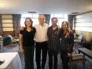 Curso MAUE em Ayr (Scotland) com Jean Pierre Barral e Alison Harvey